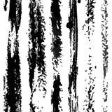 Vektor-Vertikalen-trockene Streifen kopieren Schwarzes auf Wei stockbild