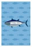 Vektor von Fischen Stockfoto