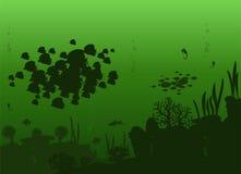 Vektor von Seefischen Stockfotografie