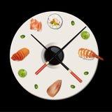 Vektor von Zeiten von Sushi Lizenzfreie Stockfotografie