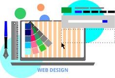 Vektor - Webdesign Lizenzfreie Stockfotografie
