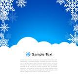Vektor-Weihnachtsgruß-Karte Lizenzfreies Stockfoto