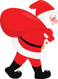 Vektor Weihnachtsmann lizenzfreies stockbild