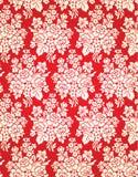 Vektor-Weinlese-Blumendamast-Muster Stockfotos