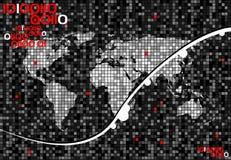 Vektor world2 Lizenzfreie Stockbilder