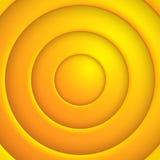 Vektor yellaw Kreis-Zusammenfassung bsckground. Eps10 lizenzfreie abbildung