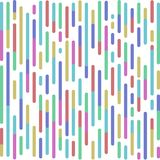 Vektor-Zusammenfassung farbige gerundete Linien Hintergrund lizenzfreie abbildung
