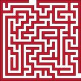 Vektorabbildung des kleinen Labyrinths Lizenzfreies Stockfoto