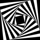 Vektorabstrakt begreppspiral Arkivfoto