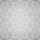 Vektorabstrakte Blumentapete. Nahtloses Muster Stockfotografie