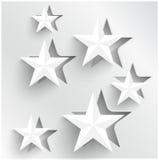 Vektorabstrakte Hintergrundsterne. Netz-Entwurf Lizenzfreies Stockfoto
