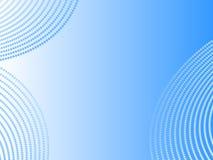 Vektorabstrakter blauer Hintergrund Lizenzfreies Stockbild