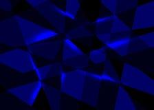 Vektorabstrakter blauer Hintergrund lizenzfreie abbildung