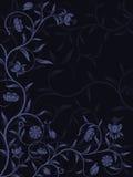 Vektorabstrakter Blumenhintergrund Lizenzfreies Stockfoto