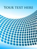 Vektorabstrakter Hintergrund mit Textplatz Lizenzfreie Stockfotos