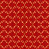Vektorabstraktes geometrisches nahtloses Muster lizenzfreie abbildung