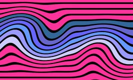 Vektorabstraktes Muster Abstrakte Hintergrund Tapete lizenzfreies stockbild