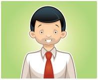 Vektoraffärsmanservice stock illustrationer