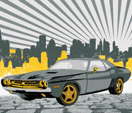Vektorauto Stockfoto