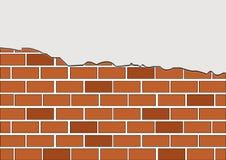 Vektorbacksteinmauer lizenzfreie abbildung