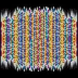 Vektorbakgrund är av färgrika fyrkanter Royaltyfri Foto