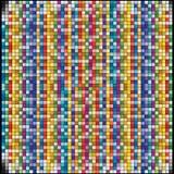 Vektorbakgrund är av färgrika fyrkanter Royaltyfria Foton