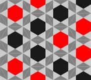 Vektorbakgrund av att upprepa geometriska stjärnor Fotografering för Bildbyråer