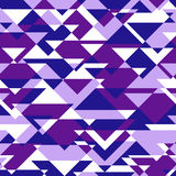 Vektorbakgrund av att upprepa geometriska trianglar Royaltyfria Foton