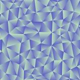 Vektorbakgrund av trianglar med en blå lutningpåfyllning klart Arkivbilder