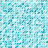 Vektorbakgrund för blå gräsplan med band för triangelformmodell royaltyfri illustrationer