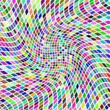 Vektorbakgrund med färgrika ljusmosaiker Royaltyfria Bilder