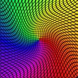 Vektorbakgrund med färgrika ljusmosaiker Fotografering för Bildbyråer