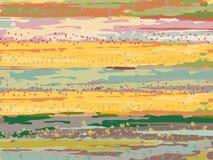 Vektorbakgrunden som dras med en borste stock illustrationer