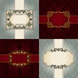 Vektorbakgrunder för design Royaltyfria Bilder