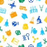 Vektorbaksida till skolabrevpappermodellen eller bakgrundsillustrationen stock illustrationer