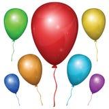 Vektorballon Einfach Änderung Lizenzfreie Stockbilder