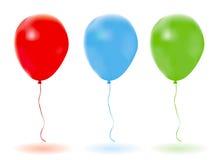 Vektorballone. Stockfotos