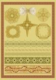 Vektorbeståndsdel för valuta Arkivbild
