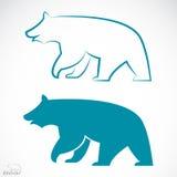 Vektorbild av en björn royaltyfri illustrationer