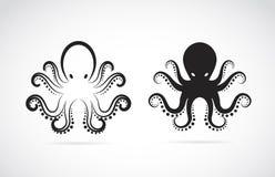 Vektorbild av en bläckfisk royaltyfri illustrationer