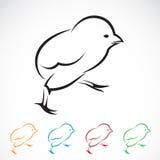 Vektorbild av en fågelunge Fotografering för Bildbyråer