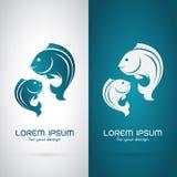 Vektorbild av en fiskdesign royaltyfri illustrationer