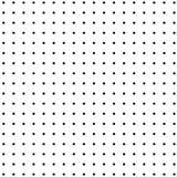 Vektorbild av svarta små prickar på en vit bakgrund royaltyfri illustrationer