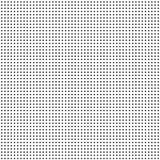 Vektorbild av svarta små prickar på en vit bakgrund stock illustrationer