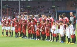 Ehemalige AC Milan Legende - Mailand Glorie Stockfoto