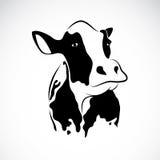 Vektorbild einer Kuh Lizenzfreies Stockfoto
