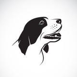 Vektorbild eines Hundes Lizenzfreies Stockfoto