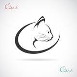 Vektorbild eines Katzendesigns Lizenzfreies Stockfoto