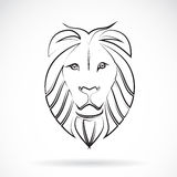 Vektorbild eines Löwes Stockfotos