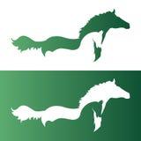 Vektorbild eines Pferds Lizenzfreie Stockfotografie